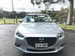 2018 Mazda 3 BN5278 Maxx SKYACTIV-Drive Sport Silver 6 Speed Sports Automatic Sedan.