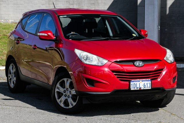 Used Hyundai ix35 LM Active Melville, 2010 Hyundai ix35 LM Active Red 6 Speed Sports Automatic Wagon