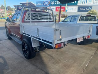 2012 Holden Colorado RG LX (4x4) Maroon 6 Speed Automatic Crew Cab Chassis