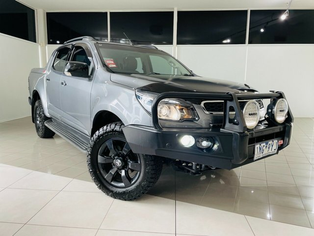 Used Holden Colorado RG MY16 Z71 Crew Cab Deer Park, 2015 Holden Colorado RG MY16 Z71 Crew Cab Grey 6 Speed Sports Automatic Utility