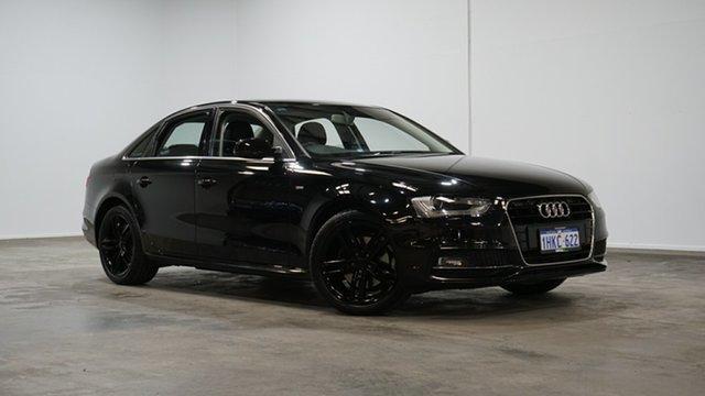 Used Audi A4 B8 8K MY15 S Line Multitronic Welshpool, 2014 Audi A4 B8 8K MY15 S Line Multitronic Black 8 Speed Constant Variable Sedan