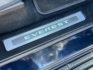 2021 Ford Everest UA II 2021.25MY Titanium Deep Crystal Blue 10 Speed Sports Automatic SUV