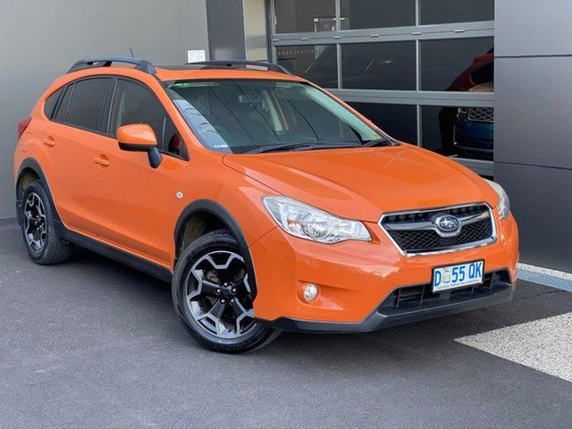 Used Subaru XV G4X MY14 2.0i-L Lineartronic AWD Hobart, 2014 Subaru XV G4X MY14 2.0i-L Lineartronic AWD Orange 6 Speed Constant Variable Wagon