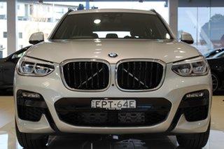 2021 BMW X3 G01 xDrive30i Steptronic M Sport Glacier Silver 8 Speed Sports Automatic Wagon
