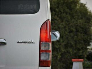 2009 Toyota HiAce KDH201V Super GL White 4 Speed Automatic Van