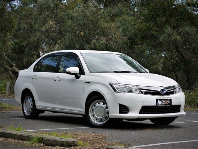 Used Toyota Corolla Axio Braeside, 2014 Toyota Corolla NKE165 Axio White Constant Variable Sedan