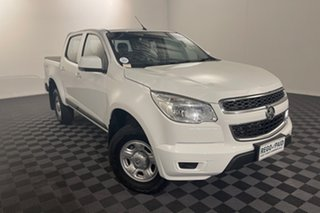 2016 Holden Colorado RG MY16 LS Crew Cab White 6 speed Automatic Utility.