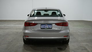 2015 Audi A3 8V MY16 Attraction S Tronic Silver 7 Speed Sports Automatic Dual Clutch Sedan