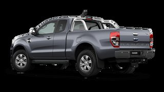2020 Ford Ranger PX MkIII 2021.25MY XLT Meteor Grey 10 Speed Sports Automatic Super Cab Pick Up