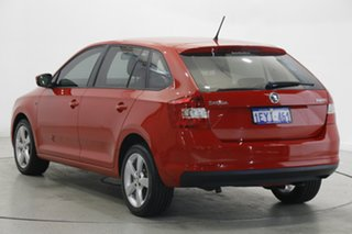 2014 Skoda Rapid NH MY15 Ambition Spaceback Red 6 Speed Manual Hatchback.