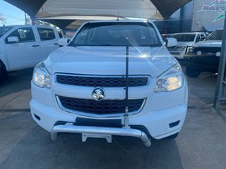 2014 Holden Colorado RG MY15 LS (4x2) White 6 Speed Automatic Crew Cab Chassis.
