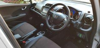 2012 Honda Fit Hybrid Silver 1 Speed Variable Wagon