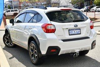 2014 Subaru XV G4X MY14 2.0i AWD Satin White Pearl 6 Speed Manual Wagon.