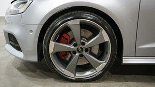 2019 Audi S3 8V MY20 Sportback S Tronic Quattro Silver 7 Speed Sports Automatic Dual Clutch