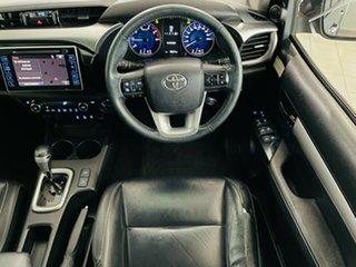 2016 Toyota Hilux GUN126R SR5 Double Cab Grey 6 Speed Sports Automatic Utility.