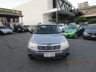 2010 Subaru Forester MY10 X Grey 4 Speed Auto Elec Sportshift Wagon.