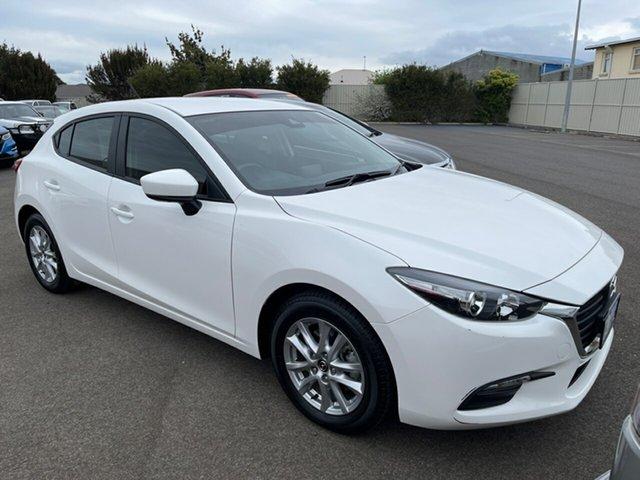 Used Mazda 3 BN5478 Neo SKYACTIV-Drive Sport Devonport, 2018 Mazda 3 BN5478 Neo SKYACTIV-Drive Sport White 6 Speed Sports Automatic Hatchback