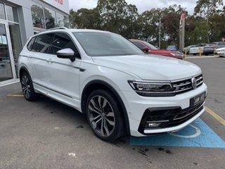 2018 Volkswagen Tiguan 5N MY19 162TSI Highline DSG 4MOTION Allspace White 7 Speed.