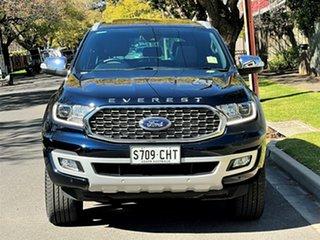 2021 Ford Everest UA II 2021.25MY Titanium Deep Crystal Blue 10 Speed Sports Automatic SUV.