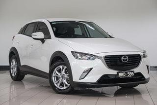 2016 Mazda CX-3 DK2W7A Maxx SKYACTIV-Drive Polar White 6 Speed Sports Automatic Wagon.