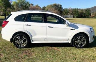 2015 Holden Captiva CG MY15 7 AWD LTZ White 6 Speed Sports Automatic Wagon