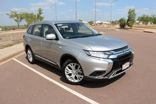 2019 Mitsubishi Outlander ZL MY19 ES AWD Silver 6 Speed Continuous Variable Wagon.