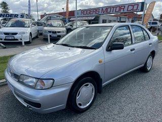 1997 Nissan Pulsar LX Silver 4 Speed Automatic Sedan.