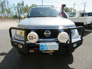 2010 Nissan Pathfinder R51 MY10 ST-L White 6 Speed Manual Wagon.