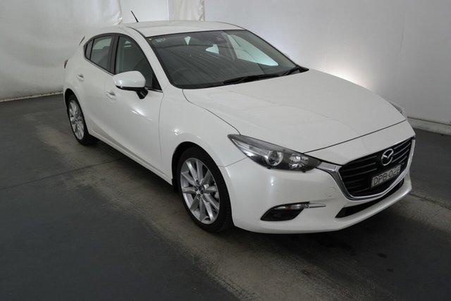 Used Mazda 3 BN5438 SP25 SKYACTIV-Drive Maryville, 2017 Mazda 3 BN5438 SP25 SKYACTIV-Drive White 6 Speed Sports Automatic Hatchback