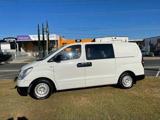 2009 Hyundai iLOAD TQ-V Crew Cab White 5 Speed Sports Automatic Van