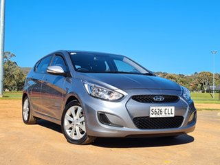 2017 Hyundai Accent RB5 MY17 Sport Grey 6 Speed Sports Automatic Hatchback.