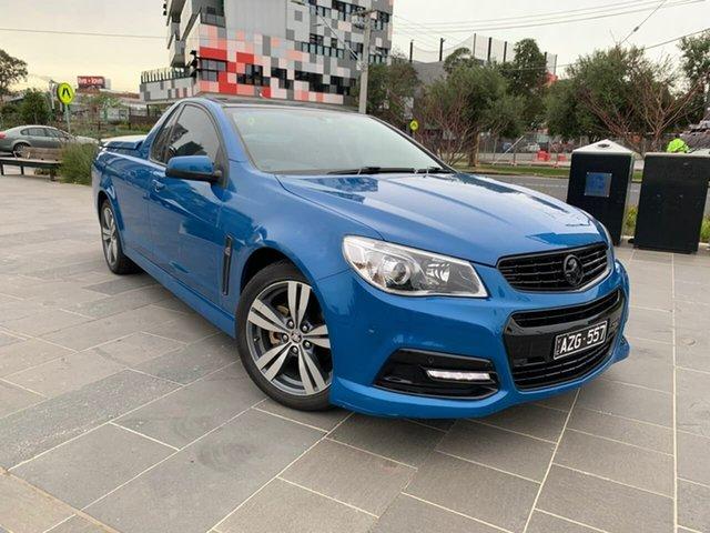 Used Holden Ute VF MY14 SV6 Ute South Melbourne, 2014 Holden Ute VF MY14 SV6 Ute Blue 6 Speed Manual Utility