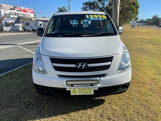 2009 Hyundai iLOAD TQ-V Crew Cab White 5 Speed Sports Automatic Van.