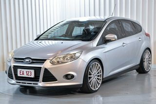 2013 Ford Focus LW MkII Trend Silver 5 Speed Manual Hatchback.