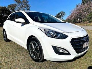 2016 Hyundai i30 GD4 Series II MY17 Active X Ceramic White 6 Speed Sports Automatic Hatchback.