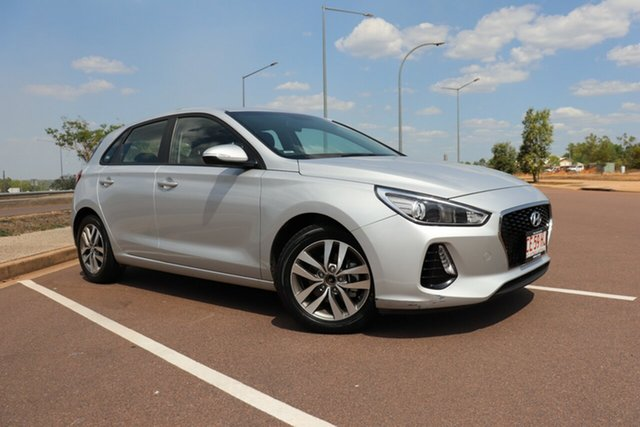Used Hyundai i30 PD2 MY19 Active Palmerston, 2019 Hyundai i30 PD2 MY19 Active Silver 6 Speed Automatic Hatchback