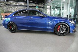 2017 Mercedes-Benz C-Class W205 808MY C63 AMG SPEEDSHIFT MCT S Blue 7 Speed Sports Automatic Sedan