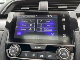 2019 Honda Civic 10th Gen MY19 VTi-LX White 1 Speed Constant Variable Hatchback