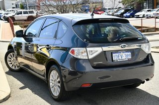 2009 Subaru Impreza G3 MY09 R AWD Dark Grey 5 Speed Manual Hatchback.