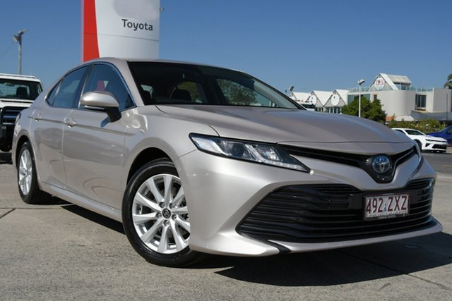 Pre-Owned Toyota Camry Axvh70R Ascent Albion, 2020 Toyota Camry Axvh70R Ascent Steel Blonde 6 Speed Constant Variable Sedan Hybrid