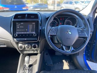 2021 Mitsubishi ASX XD MY21 LS 2WD Blue 1 Speed Constant Variable Wagon
