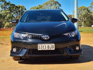 2015 Toyota Corolla ZRE182R SX S-CVT Black 7 Speed Constant Variable Hatchback