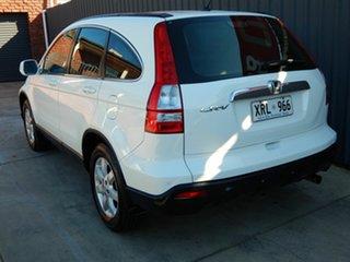 2007 Honda CR-V RE MY2007 Luxury 4WD White 5 Speed Automatic Wagon