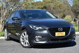 2016 Mazda 3 BM5236 SP25 SKYACTIV-MT GT Grey 6 Speed Manual Sedan.