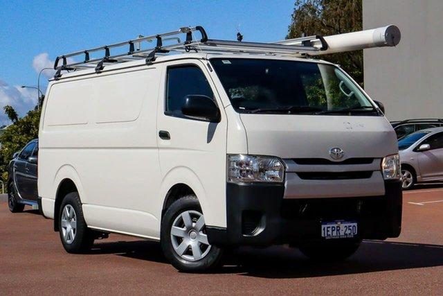 Used Toyota HiAce TRH201R MY14 LWB Cannington, 2014 Toyota HiAce TRH201R MY14 LWB White 4 Speed Automatic Van