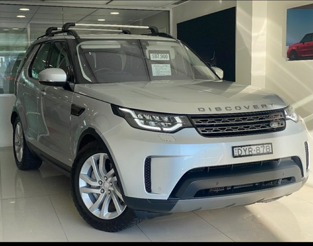 Used Land Rover Discovery Series 5 L462 MY19 SE Brookvale, 2018 Land Rover Discovery Series 5 L462 MY19 SE Silver 8 Speed Sports Automatic Wagon