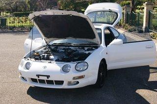 1998 Toyota Celica SX White 5 Speed Manual Liftback
