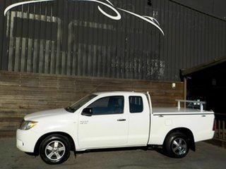 2007 Toyota Hilux GGN15R MY08 SR Xtra Cab 4x2 White 5 Speed Automatic Utility
