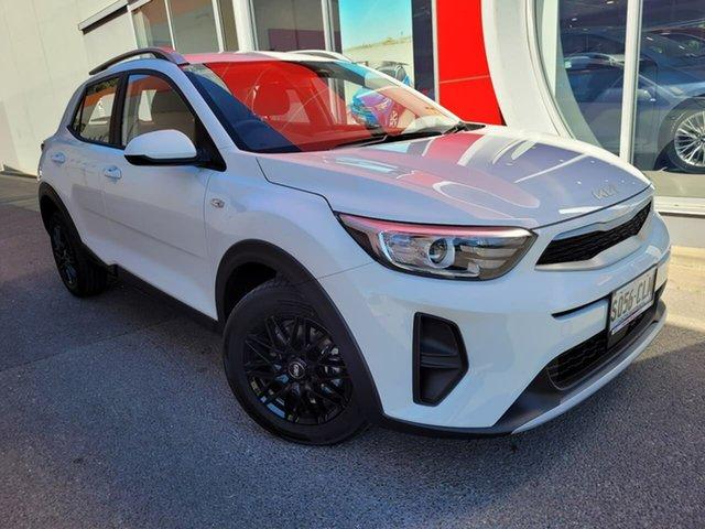 Demo Kia Stonic YB MY22 S FWD Reynella, 2021 Kia Stonic YB MY22 S FWD White 6 Speed Automatic Wagon