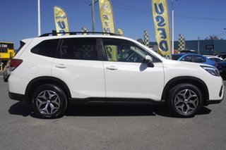 2018 Subaru Forester S5 MY19 2.5i CVT AWD Crystal White Pearl 7 Speed Constant Variable Wagon